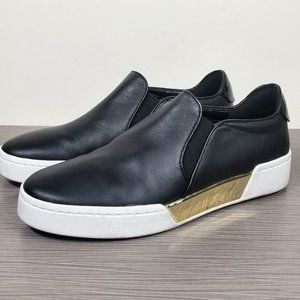 MICHAEL Michael Kors Keaton Sneaker, Black Leather